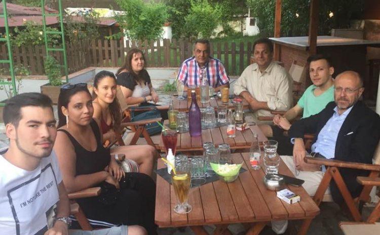 Με την Τοπική της ΝΔ και νεολαίους στο Ασβεστοχώρι