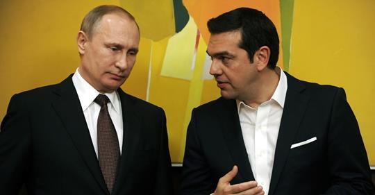 Ο απογαλακτισμός της ελληνικής αριστεράς απο τη Ρωσία