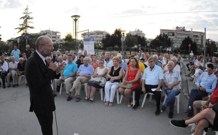 ΒΑΡΤΖΟΠΟΥΛΟΣ:Να γίνει η Περαία η Γλυφάδα της Θεσσαλονίκης!