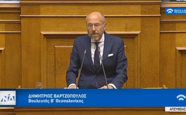 Η ομιλία μου για την αναθεώρηση του Συντάγματος. Ζήτησα «μόνιμο εκλογικό σύστημα με βάση την Μονοεδρική Περιφέρεια».