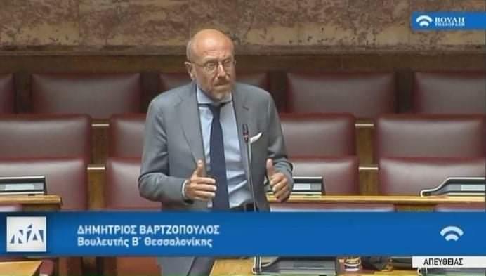 Δ.Βαρτζόπουλος: « Ανάγκη μαζικών εξετάσεων COVID»