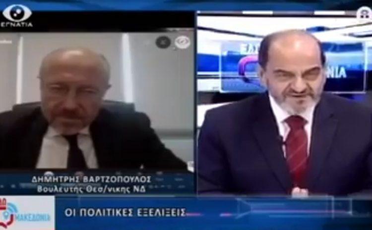 Η συζήτηση μου στην εκπομπή «Εδώ Μακεδονία» στην «Εγνατία Τηλεόραση»